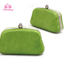 Fashion Green Evening Bag Clutch Bag party bags for <strong>Women</strong>