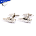 Chinese Cheapest Pencil Cufflinks Novelty Silver Metal Mens Shirt Cufflinks