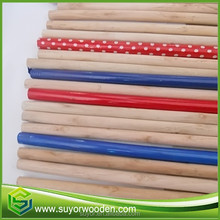 Garden Tool Using Long Wood Mop Stick For Grss Witch Broom