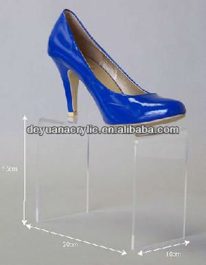 High quality wholesale acrylic shoe display stand