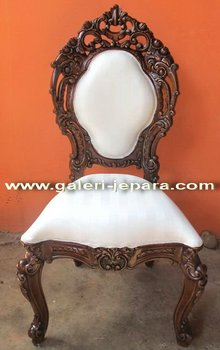 Baroque Chair Antique Furniture - Carved Ornate Chair - Baroque Furniture Style