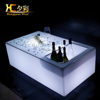 Chargeable Remote Control Illuminate Light LED Bar Furniture