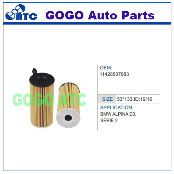 Oil Filter for BMW ALPINA D3 SERIE 2 5 X1 X3 OEM 11428507683 HU8002Y 1147934292