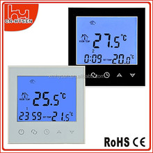 HY03WW Programmable Touch Screen Modbus Water Floor Heating Room Thermostat