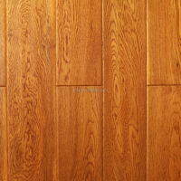 Antique Engineered Chinese Oak Solid Wood Flooring Good Surface Finishing