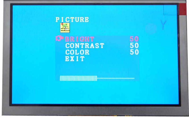 "5"" high resolution lcd display"