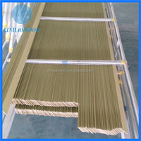 paulownia wooden blinds,wooden blind parts
