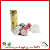 Loose Powder Use Paper tube with sifter cover/cardboard tube containers