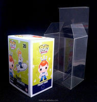 "BOX PROTECTORS FOR FUNKO POP!4""&6"" VINYL FIGURES CRYSTAL CLEAR ACID-FREE CASES,PET material"