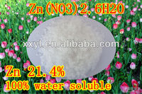 98% Tech Grade Zinc Nitrate , Zn(NO3)2.6H2O