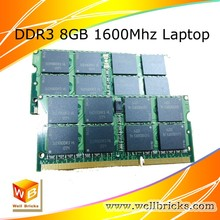 Laptop best price wholesale 8gb ddr3 ram 1600MHz