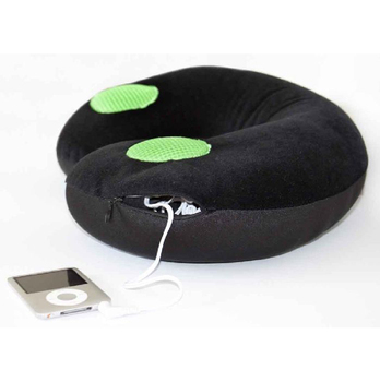 Travel Pillow w/Ipod Speakers