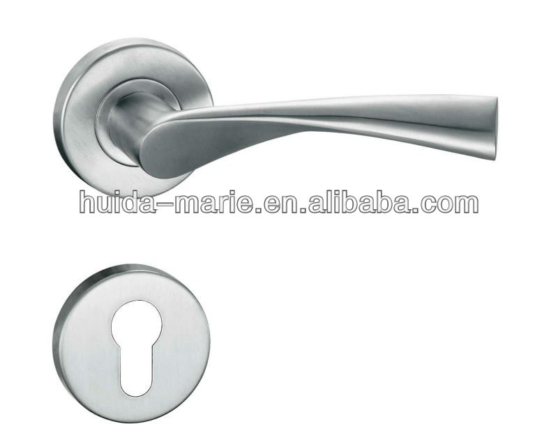 High-grade stainless steel Furniture solid lever Handle