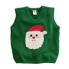 15CSK013 2016 kids christmas sweater vest kid clothing