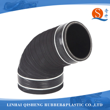 2-3 ply reinforced polyester black air intake pipe