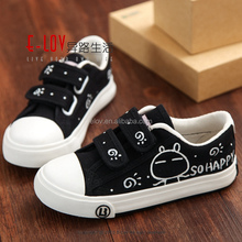 High quality textile upper canvas shoe for boys XM024H