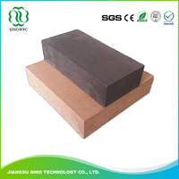 Recycled Material Waterproof wpc decking wood