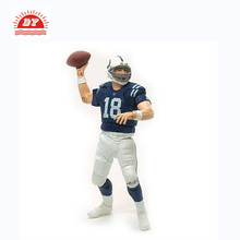 Custom Plastic 3d Sports American Football Player Action Figure