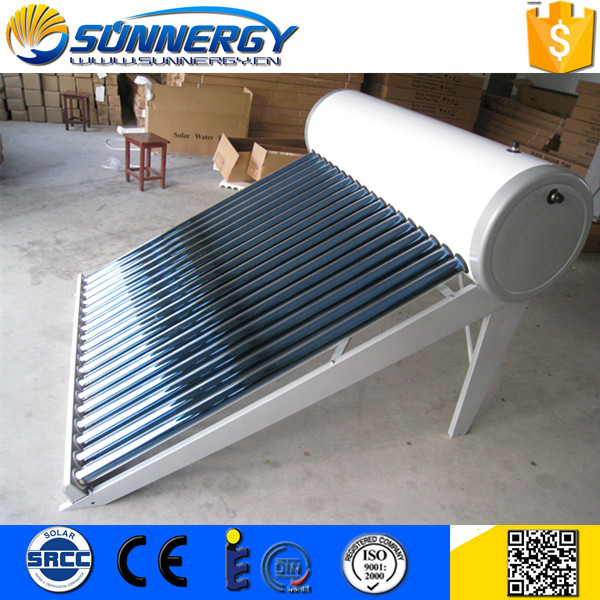 Customized Non Pressure Vacuum Tube Solar Water Heater of China