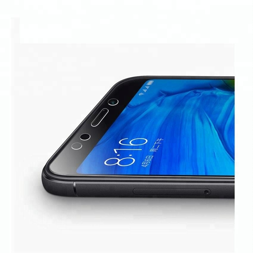 mobile phone tempered glass for xiaomi 6x 2018 9H 2.5D black full coverage glass for xiaomi 6x Screen Protector s2