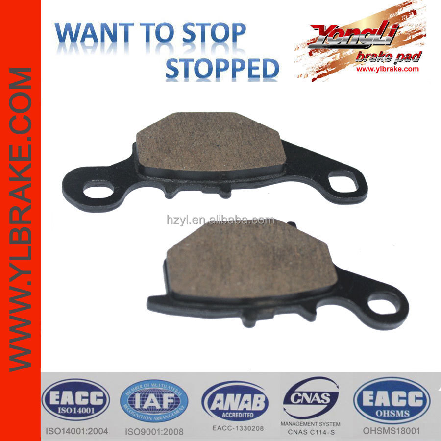 Brake Pad For Motorcycle Scooter Moped ATV GOKART, scooter motorcycle parts brake of China,best quality Brake Pads For KAWASAKI