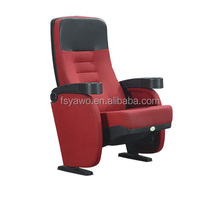 2017 Vip tip-up comportable 5d recliner seat theater cinema hall chair dimensions(YA-19C)