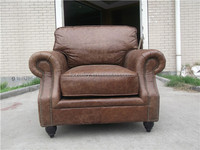 French nice comfort industrial vintage furniture pu leather lounge suites love sex lounge sofa chair