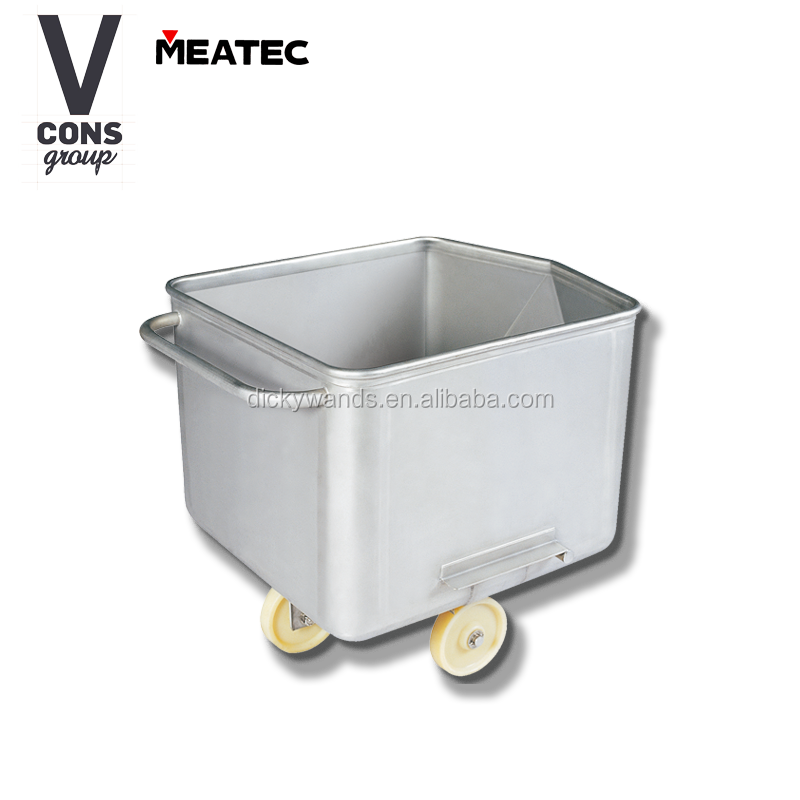 200l meat processing trolley storage trolley for <strong>food</strong>