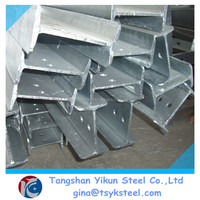 A36 - A572 Grade and EN,BS,ASTM,JIS,GB,DIN,AISI Standard galvanized i beam iron manufacturers