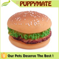 Soft Squeaky Pet Toy for Dogs of Small Hamberger