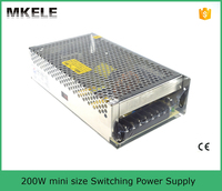 MS-200-48 mini size smps power supply ac to dc 48v 200w 48v desktop power supply
