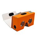 Stereoscopic 3d google cardboard for promotion, accept custom cardboard vr, google cardboard v2