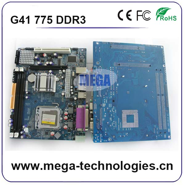 Hot selling intel motherboard ddr3 775 pin in large stock