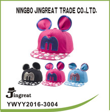 pink black blue The Fashional Mickey Children Cap And Hat lovely baseball caps