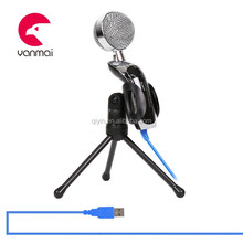 Single star Wired karaoke USB microphone for Play station4/ps2/ps3/wii/xbox360/Computer