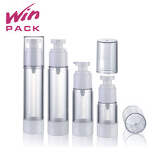15ml/20ml/25ml/30ml/40ml/50ml/60ml Different design round shape acrylic lotion pump airless cosmetic bottle