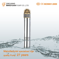 High head brushless hydraulic ram water pump