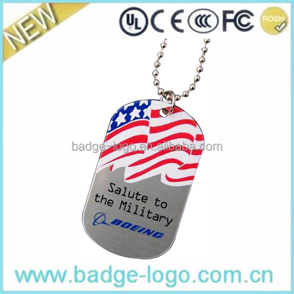Boeing Promotional Fashion Dog Tags for Souvenir