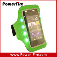 Factory wholesale sports mobile arm bag ,running arm bag,under arm bag with LED light