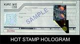 Hot Stamp Holograms