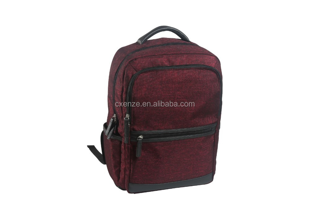 15 inch 840D shinning polyester travel large business laptop bag