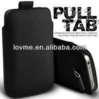 PULL TAB PU leather Pouch COVE shell case skin FOR Samsung Galaxy Win I8550
