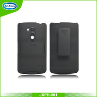 Hot sell wonderful hard clip combo case for LG optimus l70 plus for d290