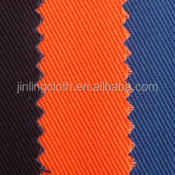 textile twill fabric cotton polyester fabric workwear fabric