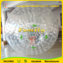 Supplier 2016 Commercial Grade PVC/TPU Human Sized Hamster Ball, Zorb Ball Rental, Inflatable Water Walking Ball Rental