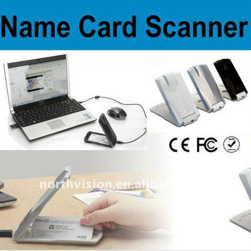 portable USB business card scanner