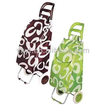 Promotional Lightweight Folding Trolley bag, Shopping bag trolley bag