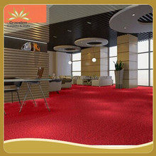 PP Wall To Wall Loop Pile Machine Tufted Carpet
