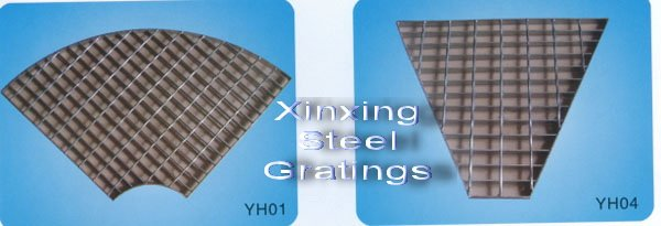 Steel Grating Cut-to-Size Special Shape