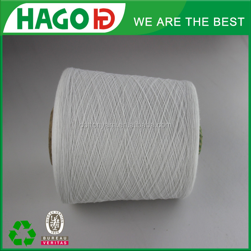 sell High quality recycled cotton dyed yarn for sweater